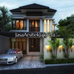 Rumah Bu Dewi Luas 220 m2