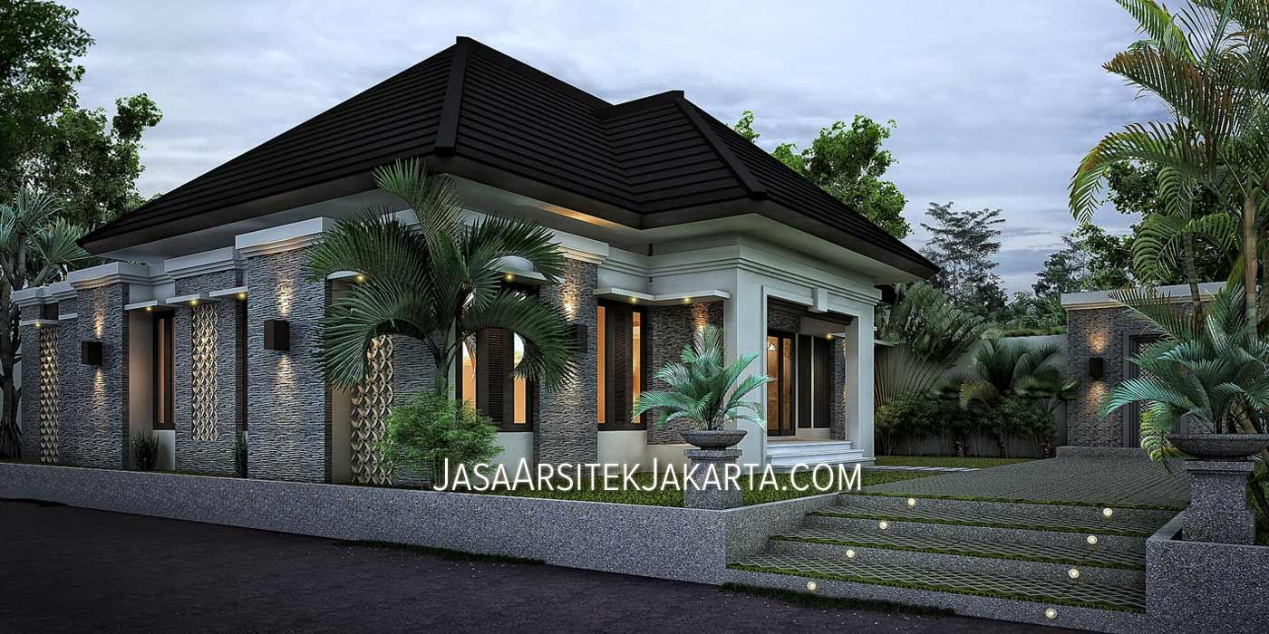 Desain Rumah Bp Arsyad Luas 240m2 Model Rumah Minimalis 21 Com