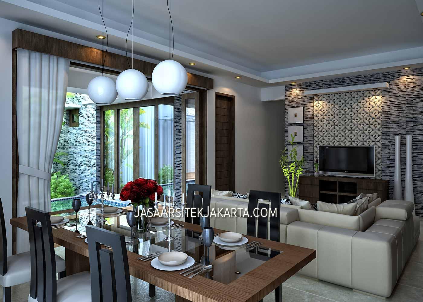 desain rumah 4 kamar luas 330 m2 bp nurdin model rumah