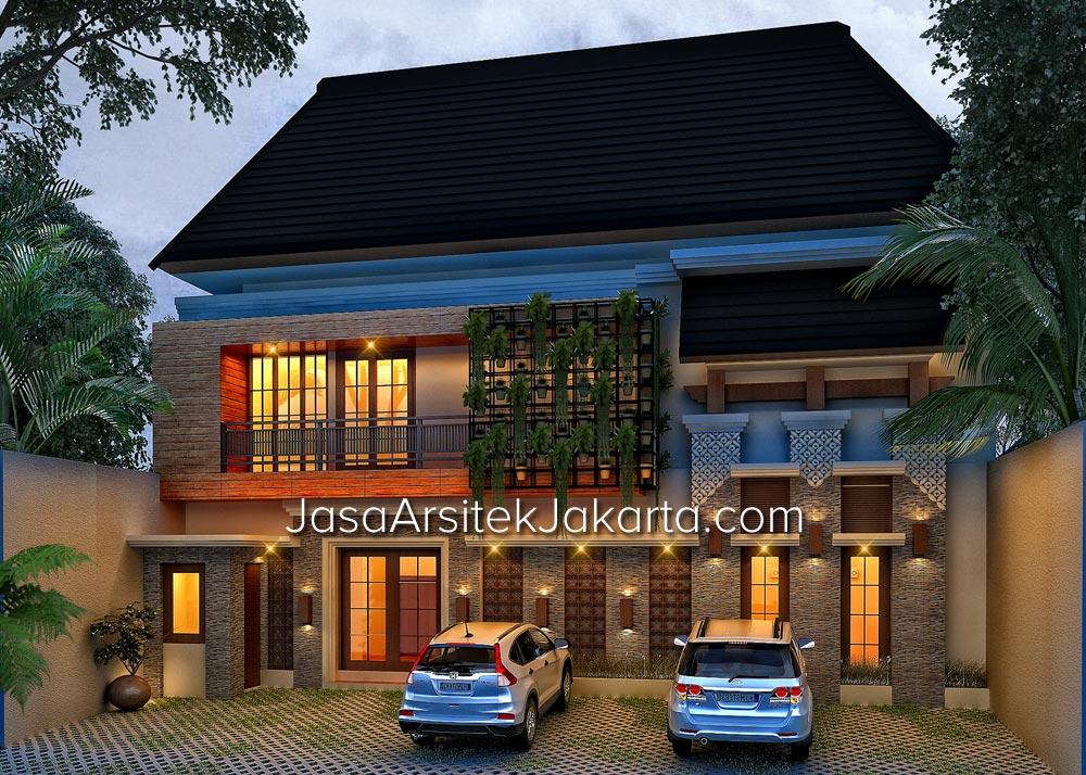 Desain GuestHouse 10 Kamar Bp Erwin Jakarta