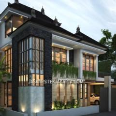 Desain Rumah luas 150 m2 Bapak Wuri Jakarta